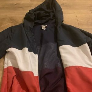 brandy melville dupe zip up jacket